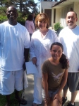 8-5-12 Baptism of Morris, Marissa and Andrew