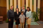 Nikolas Valenti Baptism and Confirmation with family and Martindales.